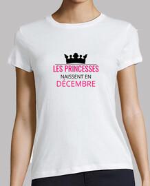Les princesses naissent en décembre