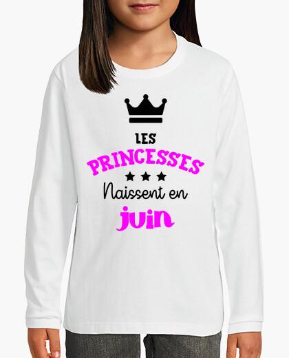 Vêtements enfant Les princesses naissent en juin / Bébé