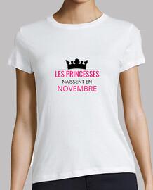 Les princesses naissent en novembre
