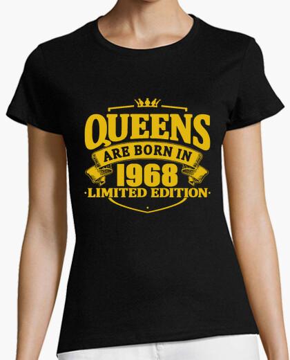 Tee-shirt les reines sont nées en 1968