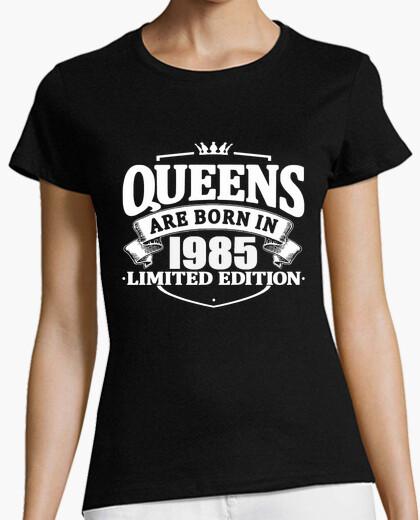 Tee-shirt les reines sont nées en 1985