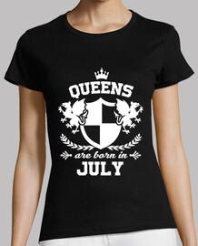 les reines sont nées en juillet