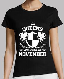 les reines sont nées en novembre