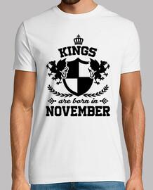 les rois sont nés en novembre