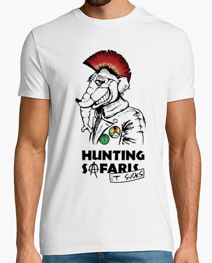 Tee-shirt les safaris de chasse ça craint!
