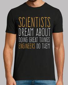 les scientifiques vs ingénieurs