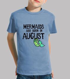 les sirènes sont nées en août