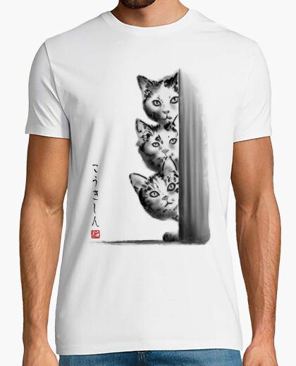 Tee-shirt les trois curieux