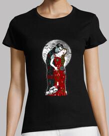 les vampires embrassent les femmes plus timides