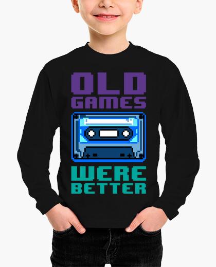 Vêtements enfant les vieux jeux étaient meilleurs (casse