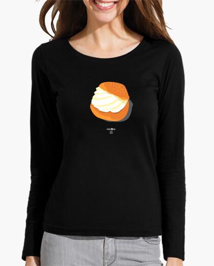 Camiseta Lesbian Slang: Bollo (Spain) blanco