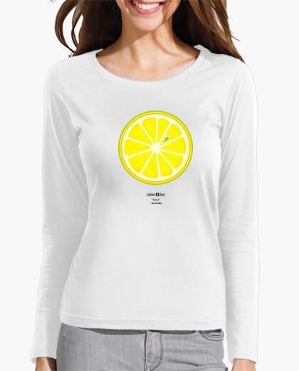 Camiseta Lesbian Slang: lemon (Australia) negro