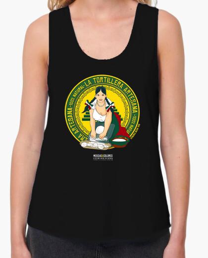 Camiseta Lesbian Slang: Tortillera ( Spain) Blanc