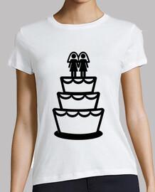 lesbiennes gâteau de mariage