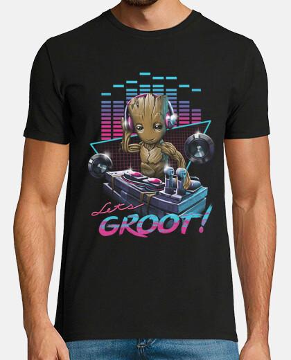Let's Groot! Shirt Mens