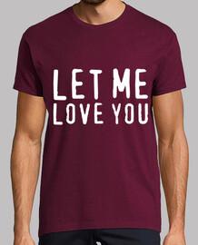LET ME LOVE YOU JUSTIN BIEBER (Hombre)