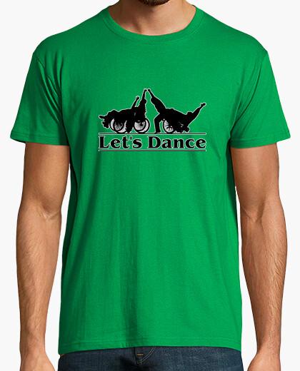 Let s Dance. Camiseta manga corta hombre