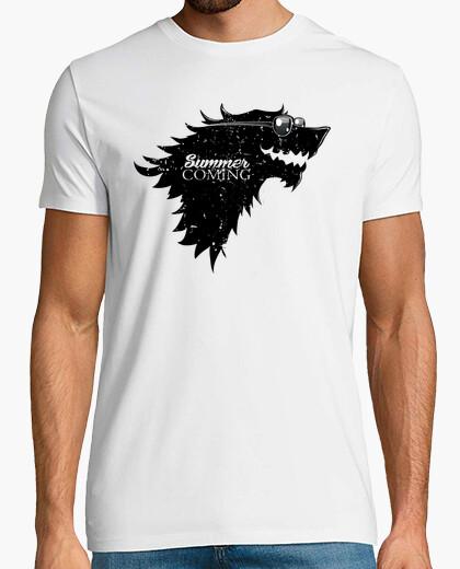Tee-shirt l'été est coming v1