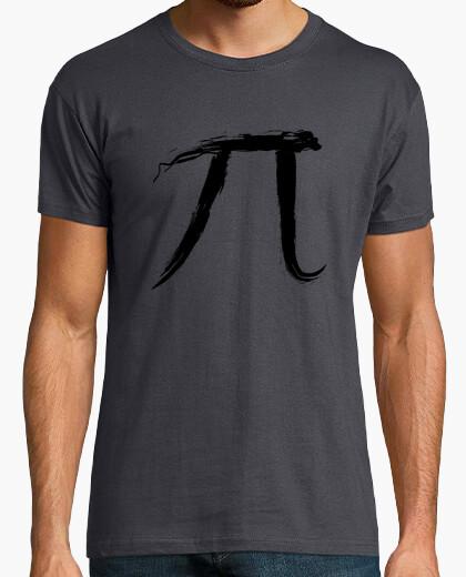Camiseta Letra Pi - Black Edition