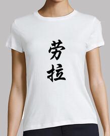 Letras Chinas (Laura)
