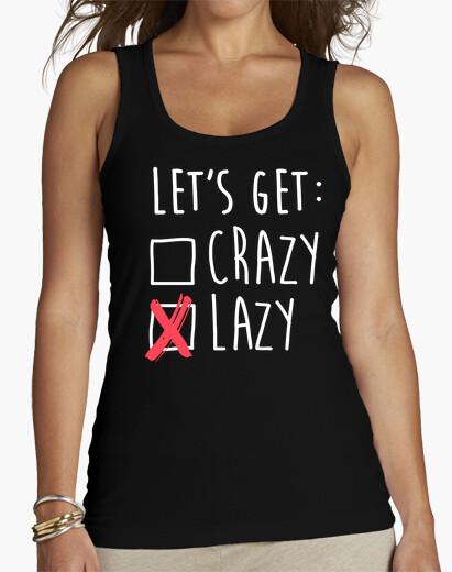 Lets get lazy - do the vagus t-shirt