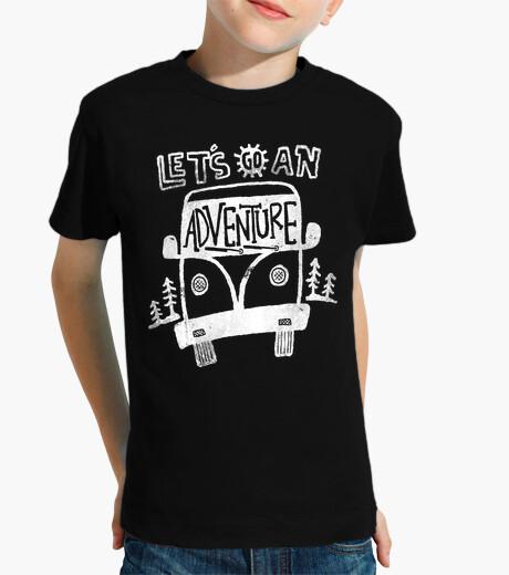 Lets go an adventure (for dark color) children's clothes