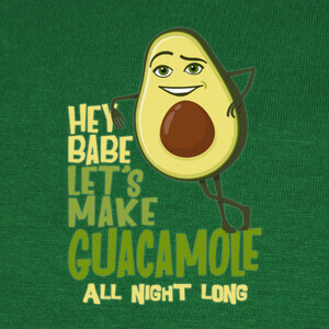 Camisetas Lets make Guacamole