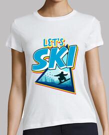 Let's Ski Vamos a Esquiar Esquí