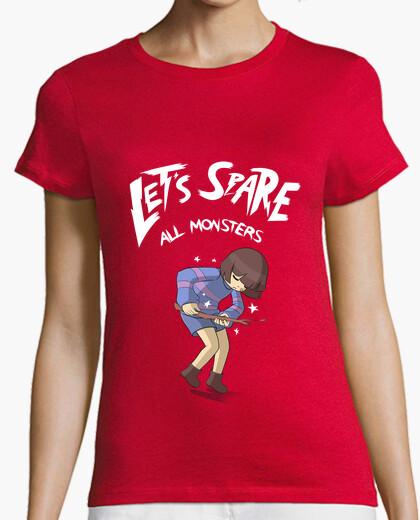 Camiseta Let's Spare