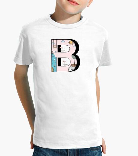 Ropa infantil Letter B
