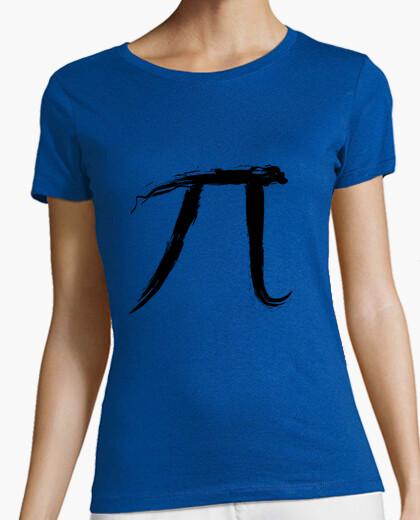 Camiseta Letter Pi - Black Edition