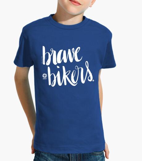 Ropa infantil Lettering Brave Bikers