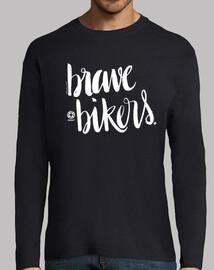 lettering brave bikers