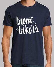 lettering brave ciclisti