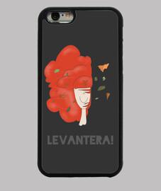 LEVANTERA PELUCONA funda iPhone 6 negra