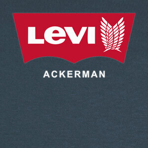 Camisetas Levi Ackerman (Blue)