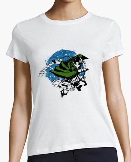 T-shirt levi ackerman ink