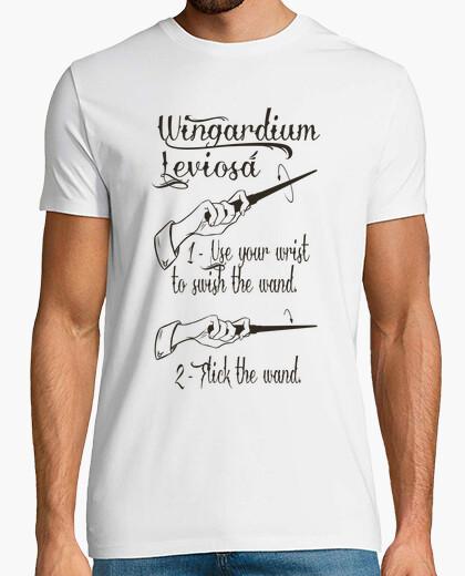 Camiseta leviosa wingardium