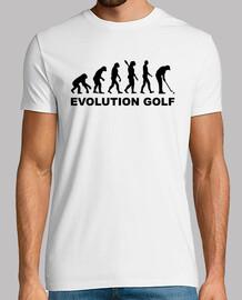 l'évolution de golf