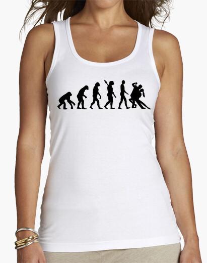 Tee-shirt l'évolution de la danse tango