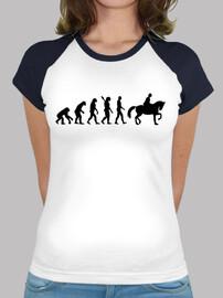 l'évolution de l'équitation