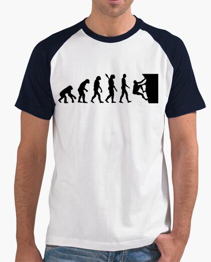Tee-shirt l'évolution de l'escalade