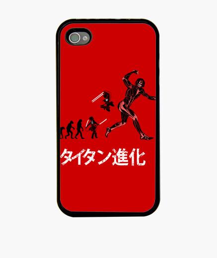 Coque iPhone l'évolution de titan