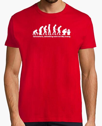 Tee-shirt L'évolution du geek