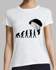 l'évolution du parachutisme saut en parachute