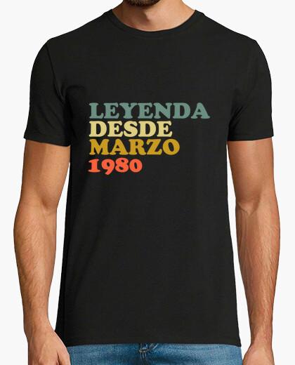 Camiseta Leyenda desde marzo 1980