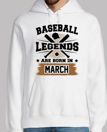 leyendas del béisbol nacen en marzo