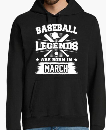 Jersey leyendas del béisbol nacen en marzo