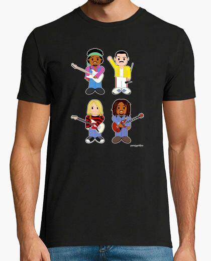 Camiseta Leyendas muertas del Rock