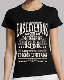 Leyendas nacen en diciembre 1968